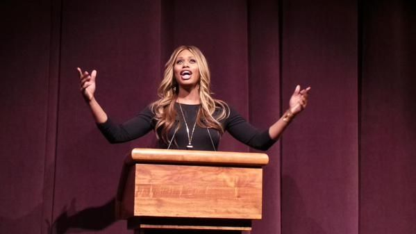 Laverne Cox at UAlbany | Her Campus