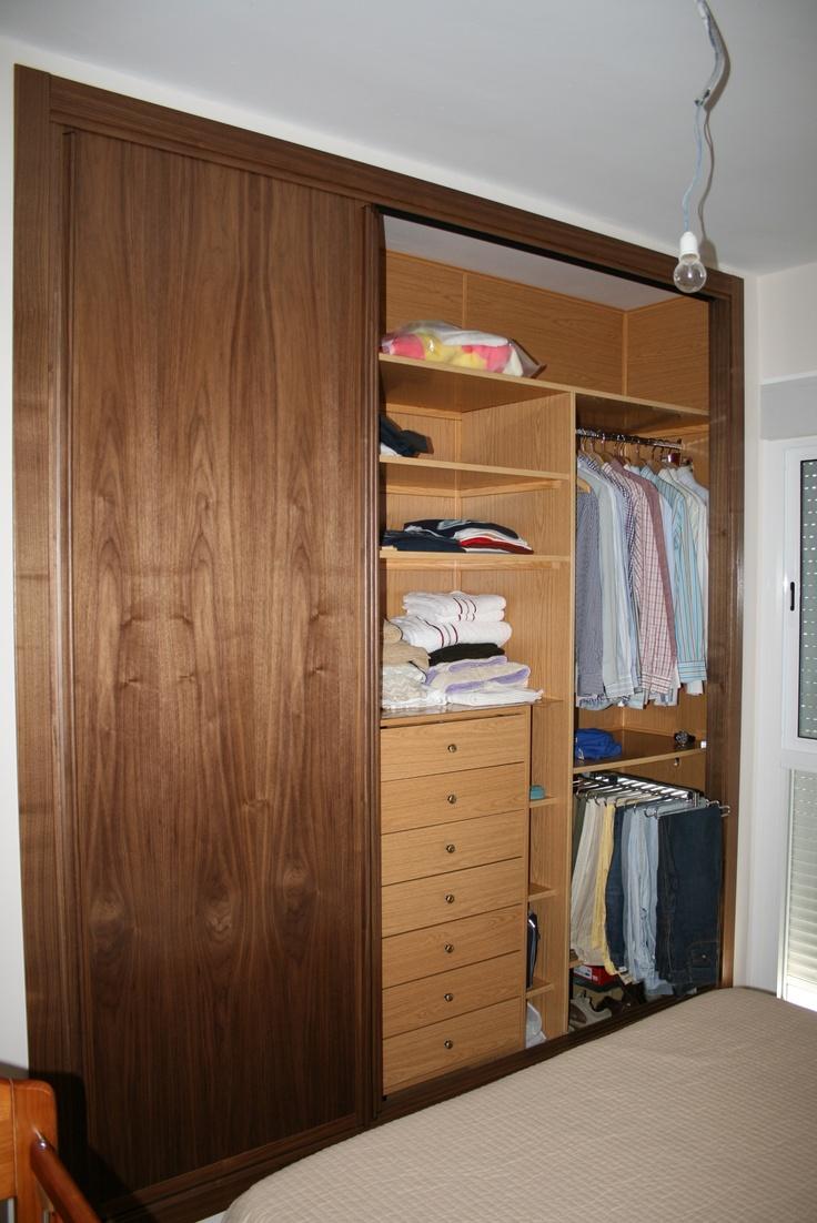 Divisi n de entrepa os barra cajonera y pantalonero - Cajonera interior armario ...