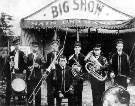 Papa Jack Laine's band