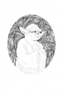 Yoda  A3, (297 x 420mm) Open Edition