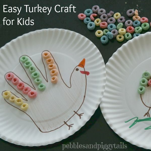 Easy Turkey Craft for Kids - Juggling Act Mama