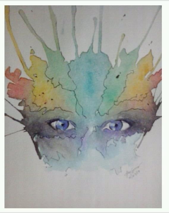 #Watercolor rendering #paint #Art