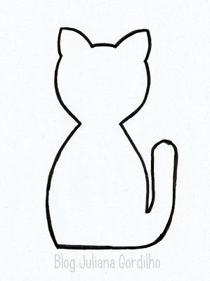 Blog Juliana Gordilho: gato em tecido