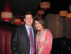 Ed Brantley and Heba Salama