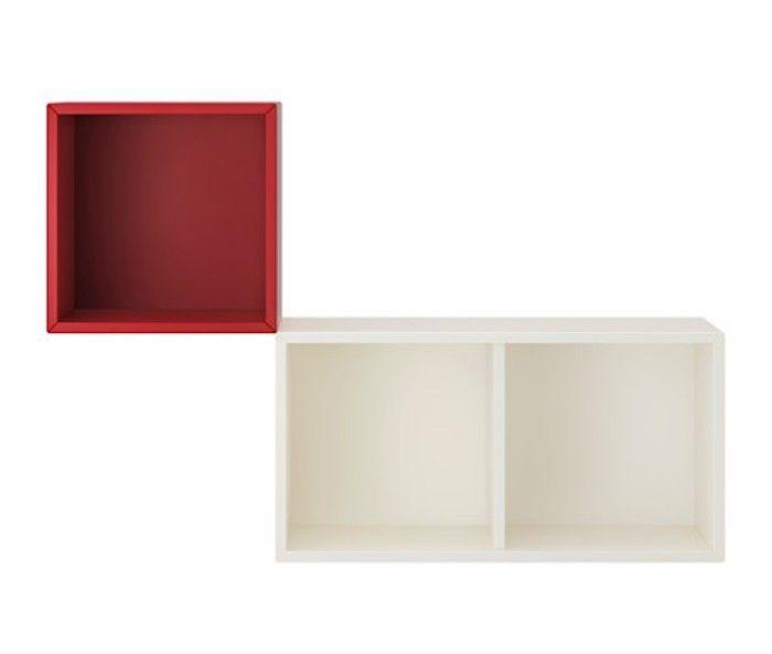 1000 id es sur le th me etagere cube murale sur pinterest cube rangement e - Etagere modulable ikea ...