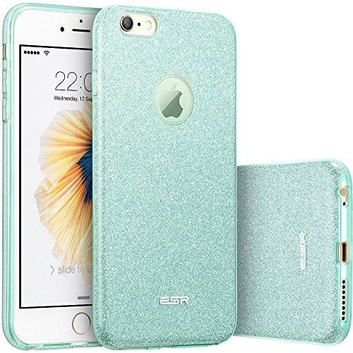 iPhone 6s Case, iPhone 6 Case, ESR Makeup Series Bling Glitter Back Cover Protective Bumper Slim Fit Case for 4.7 inches iPhone 6s (2015 Release)/ iPhone 6 (2014 Release) (Rose Gold): Amazon.ca: Cell Phones & Accessories
