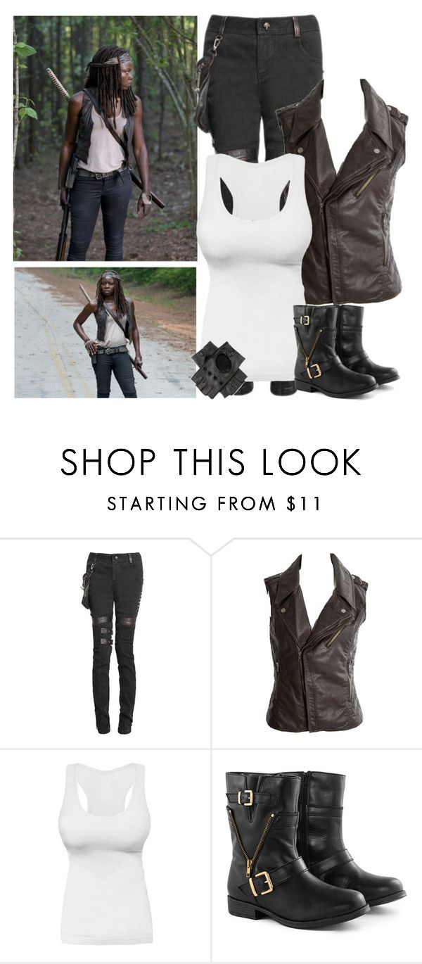 The Walking Dead - style by bebe6121985 on Polyvore featuring Miso, Borger Shoes and Episode