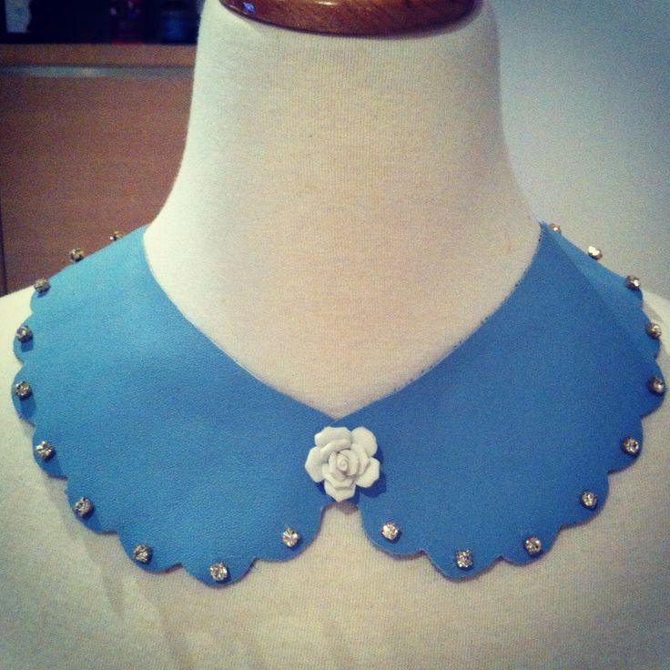 How to Make Super Cute Peter Pan Collar Necklace