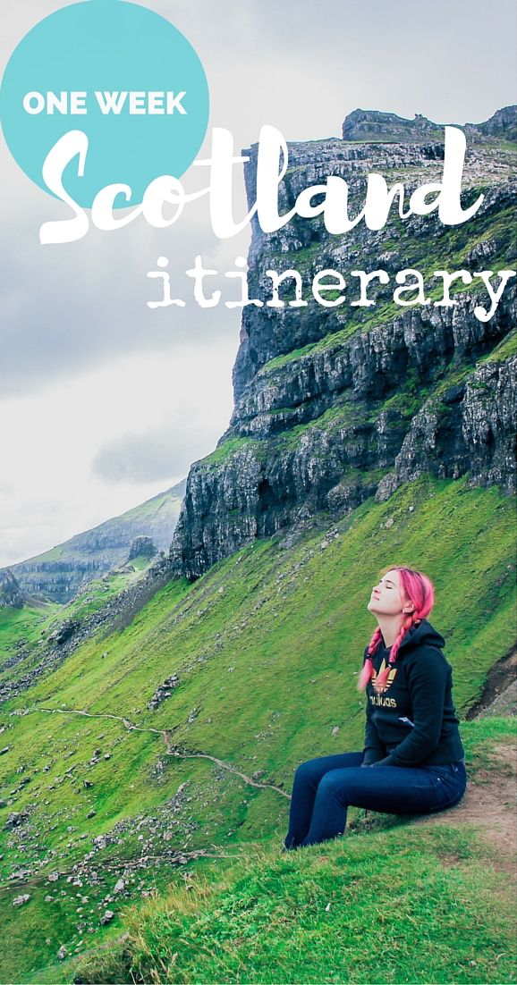 Need itinerary for one week trip in #Scotland? Here's the suggested itinerary on…