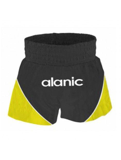 Black And Yellow Boxing Shorts