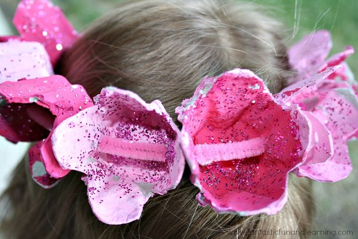 Crown of Roses Craft for Kids