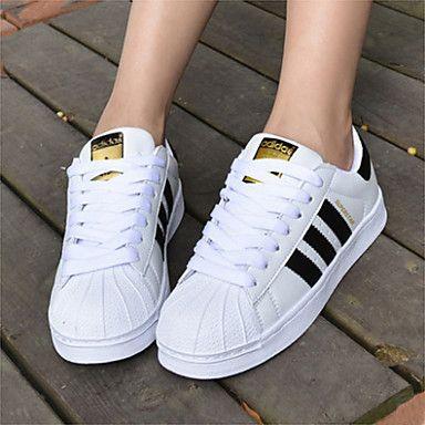 pick up 68f17 55bfa Adidas Originals Superstar Women s Skate Shoes White Black Casual Sneakers  C77124