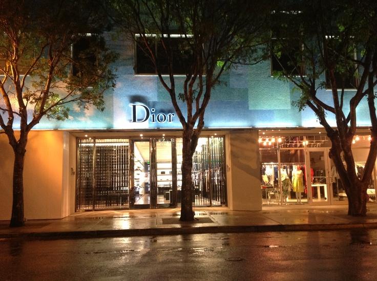 Beautiful Dior Men Boutique In The Miami Design District