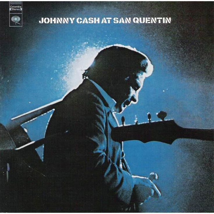 Johnny Cash - At San Quentin on 180g Import LP