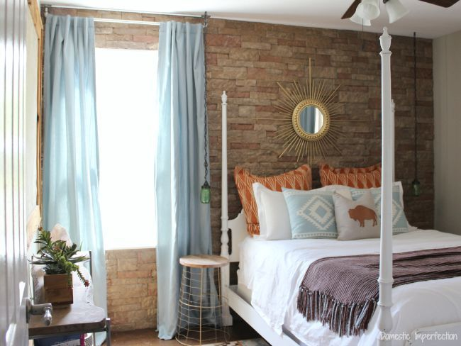 Guest rooms southwestern bedroom and modern on pinterest for Southwestern bedroom designs