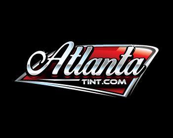 AtlantaTint.com at https://www.LogoArena.com - logo by EdEnd