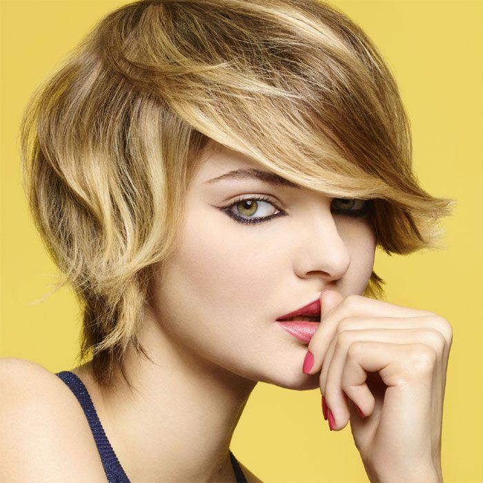 short haircut ~ Camille Albane http:\/\/www.abcfeminin.com\/Nouvelles ...