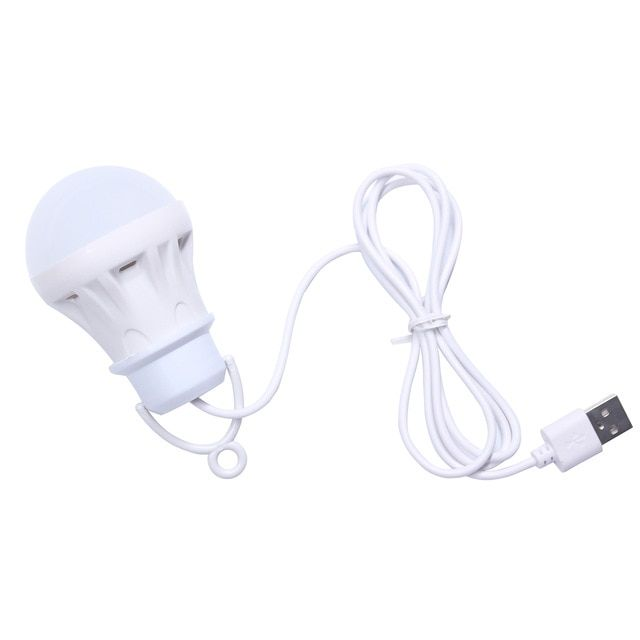 3v 3w Usb Bulb Light Portable Lamp Led 5730 For Hiking Camping Tent Travel Work With Power Bank Notebook Review Portable Lamps Portable Lantern Powerbank