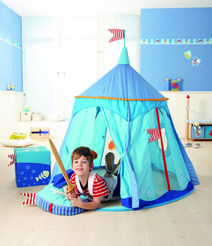 Pirate's Treasure play tent available at www.hooplaroom.com #playtent #pirate #pretendplay #playroom