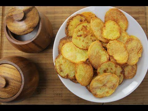 Fırında Patates Cipsi Nasıl Yapılır? - İdil Tatari - Yemek Tarifleri - Potato Chips - YouTube