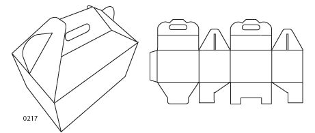 Corrugated Packaging - Gable top