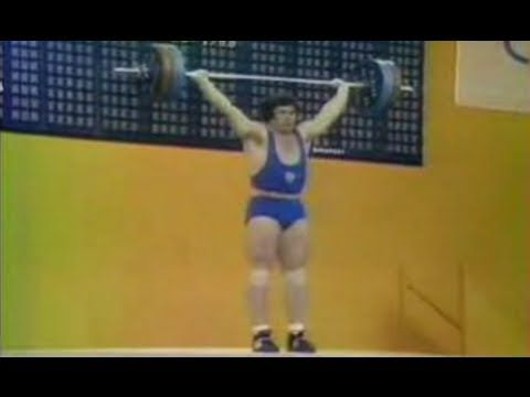 1976 Olympic Weightlifting, 110 kg class.