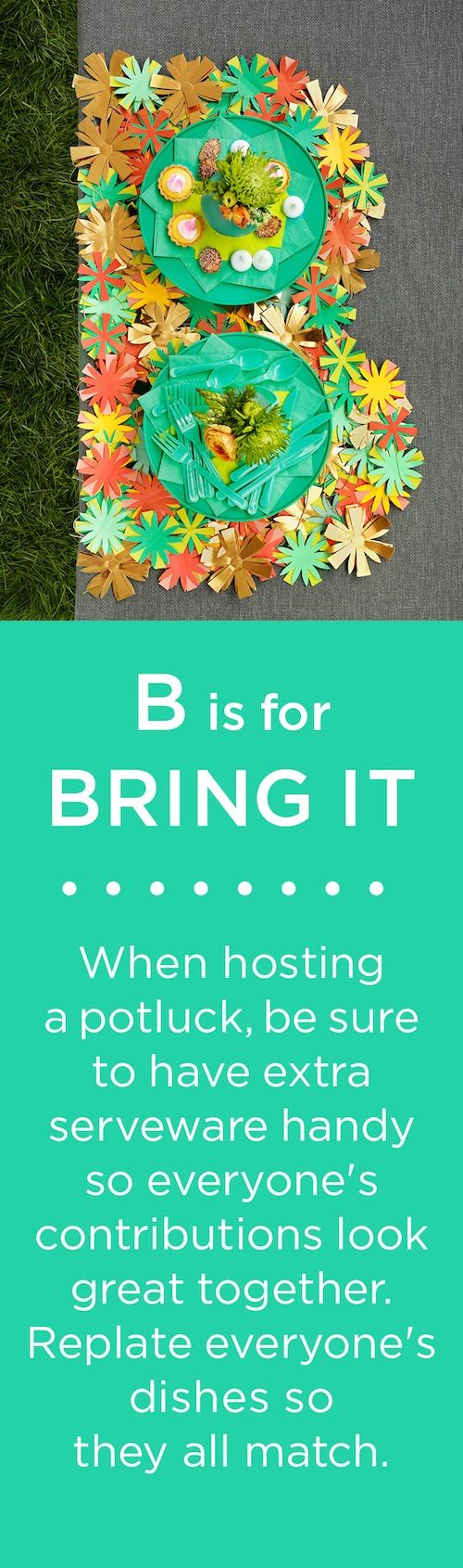B is for BRING IT