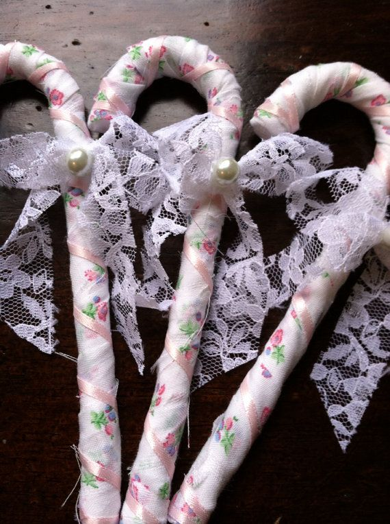 Shabby Chic Christmas Decor Shabby Chic Candy by TheBlissfulLoft, $5.99