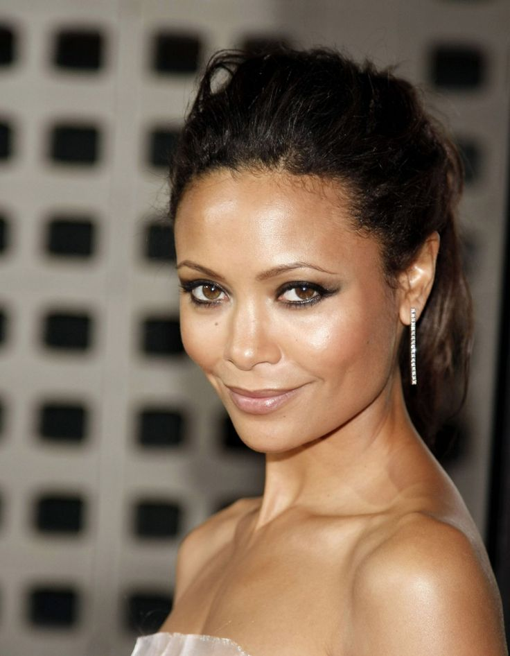 Thandie Newton, love her makeup. Eyes and lipstick. She is gorgeous