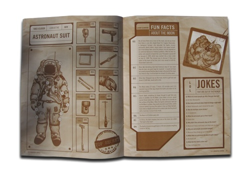 Inside spread for the Aerospace Journal. Fun fact, I could only use one color due to a low budget. Fortunately it worked out with the concept.: Color