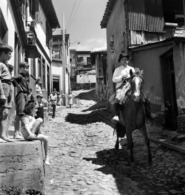 jinete porteño del fotografo Antonio Quintana