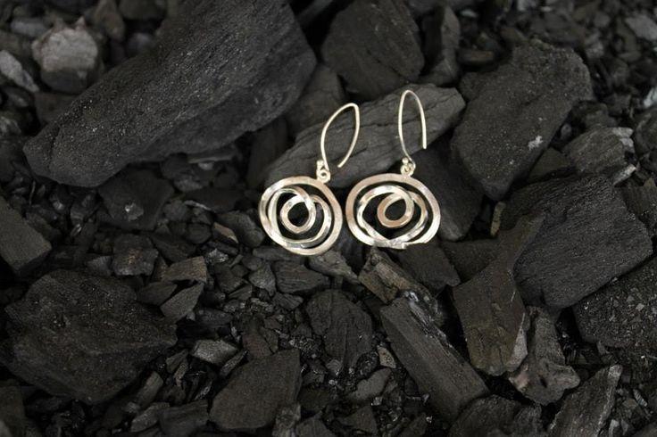 aretes GALAXIA by Heidi Peirano Jewelry