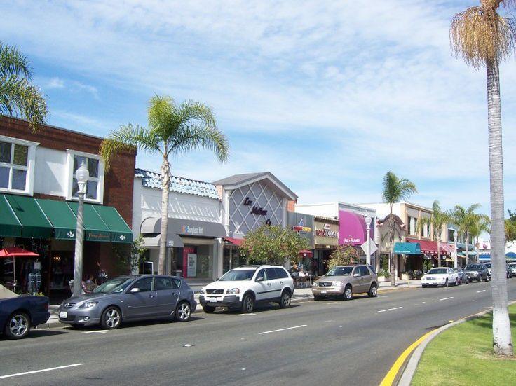 Downtown Coronado Island (Orange Avenue)