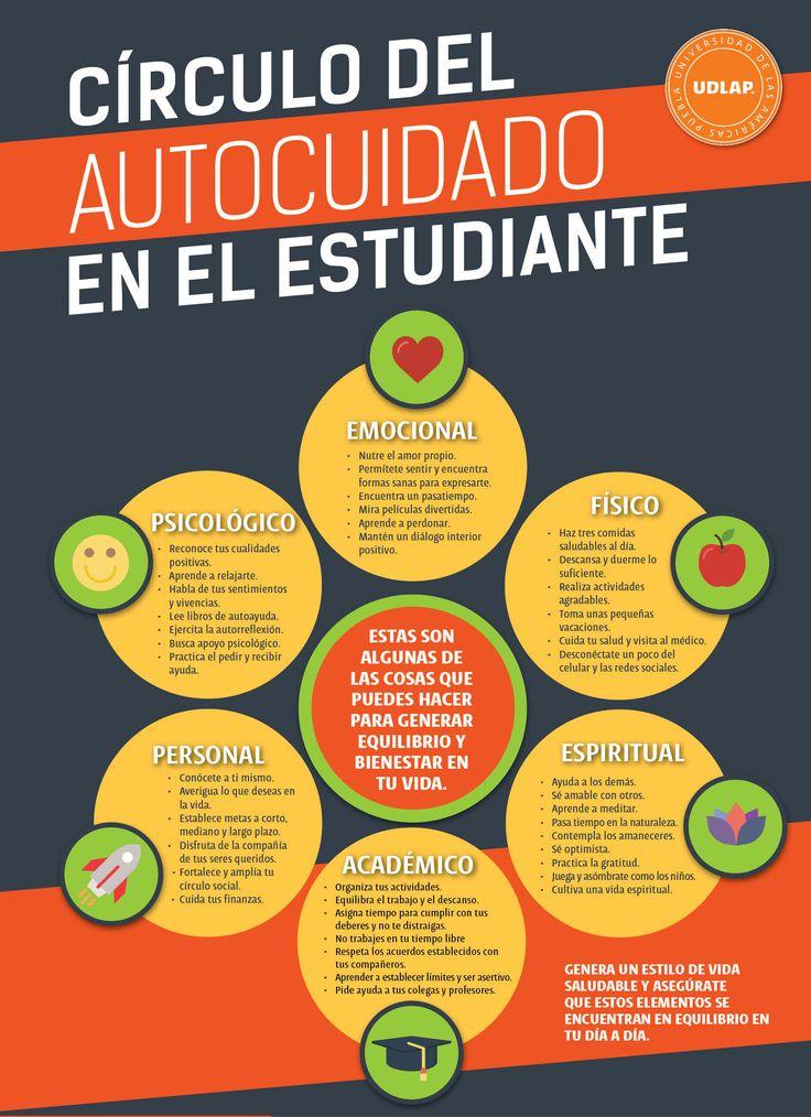 Cuida tu bienestar emocional ;)  #Estudiantes #UDLAP #Salud