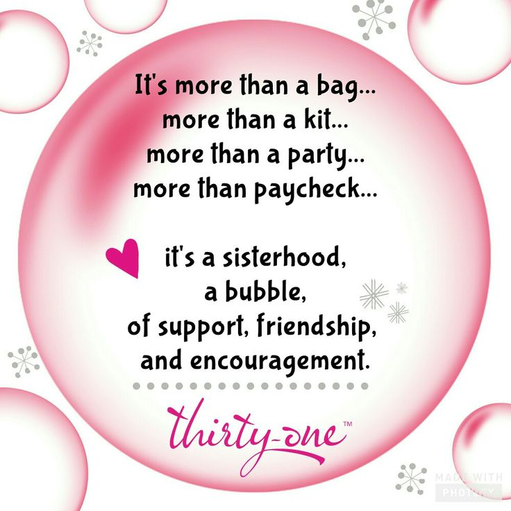 I absolutely love this Thirty One business and all it has given me!   www.mythirtyone.com/bethcasebolt/shop/join