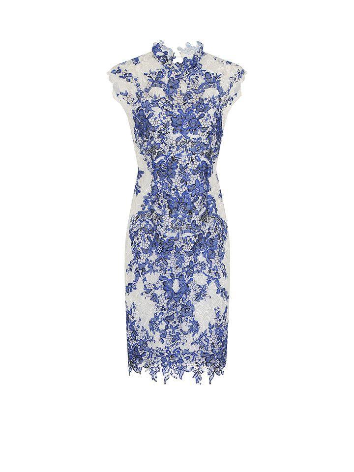 jurk-blauw-wit.jpg (720×960)