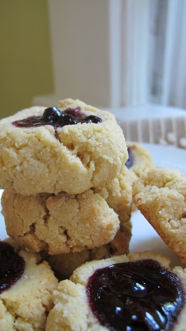 The Can-Do Candida Diet: Thumbprint Cookies for the Candida Diet: That's One Jam Good Shortbread