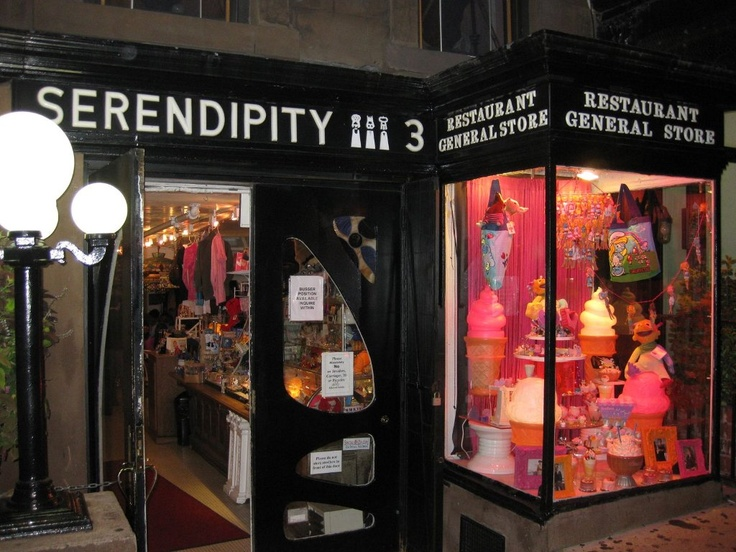 New York City, with a stop at Serendipity