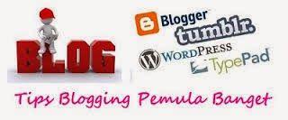 Bumi Rakata Asri: Bloger - Bagaimana memulai Blog