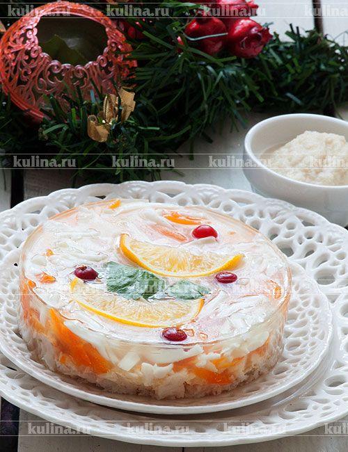 Заливное из судака - рецепт с фото