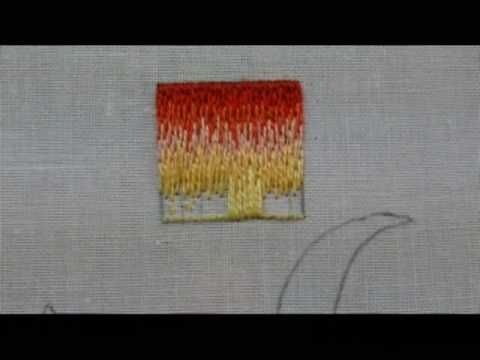 Part 3 of Basic Long and Short Stitch for Shading / Needlepainting Techniques in Hand Embroidery. Part of a Multi-Lesson Series (Free) on Needle 'n Thread: w...