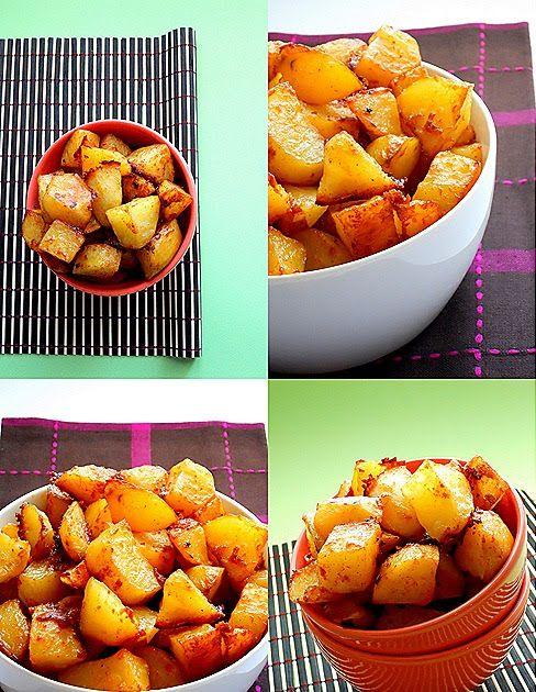 """Ετοιμαστείτε για διακοπές  στο""""όρος πατάτα""""!!! Υλικά 8-10 μέτριες  πατάτες καθαρισμένες και κομμένες 1 κ.σ. πάπρικα γλυκιά 1/2 κ.σ. σκόρδο ..."""
