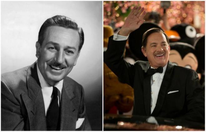<p>Αγνώριστος ο Tom Hanks στο ρόλο του Walt Disney<br /> «Saving Mr. Banks» 2013</p>