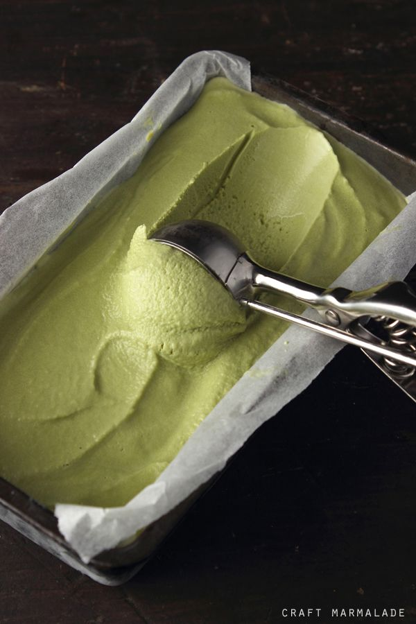 Green Tea Matcha ice Cream | Craft Marmalade - does include English instructions towards the end.