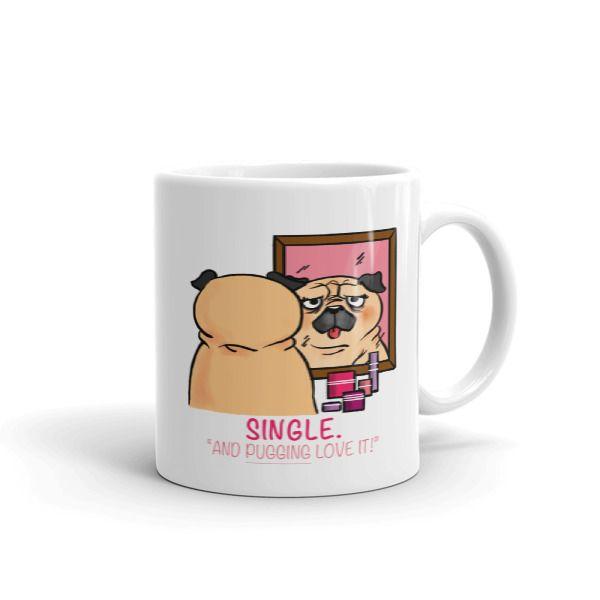 Single Pug Mug
