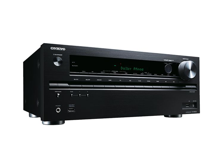 Onkyo TX-NR636 7.2-Channel Network A/V Receiver w/ HDMI 2.0 Bringing Next-Generation Entertainment to Your Home  The TX-NR636 wins prime position on your gear rack for three reasons. Firstly, it's among one of the few A/V receivers to support Dolby Atmos®* multidimensional sound following a quick firmware update. Dolby Atmos very accurately places and moves sound around the cinema, including overhead, for a breathtakingly realistic movie experience. This receiver is also ready for Ultra HD…