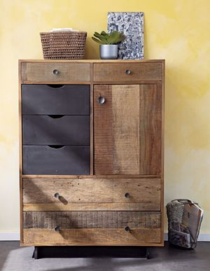 Im sure I could find room in my tiny condo for this! Atwood Tall Chest @Oakridge Centre #oakridgestyleheist