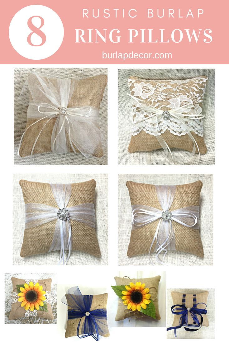 36 best burlap ring pillows and flower baskets images on pinterest featuring burlap banners ring bearer pillows and flower girl baskets our burlap wedding items are sure to help make your wedding day beautiful izmirmasajfo Images