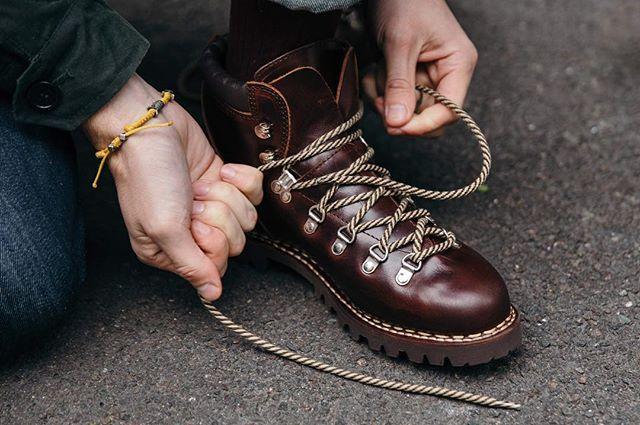 The Paraboot Avoriaz is available online and in-store now. #drakes #paraboot