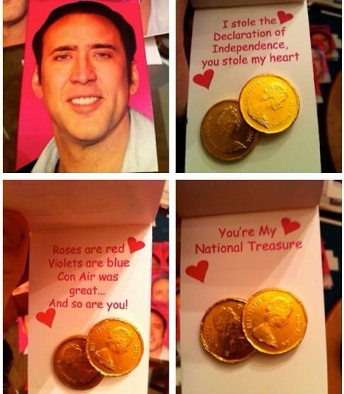 Nic Cage Is My Valentine.